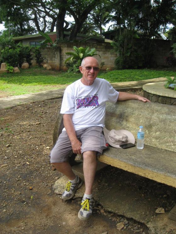 Ed at Plaza Cuartel, Palawan