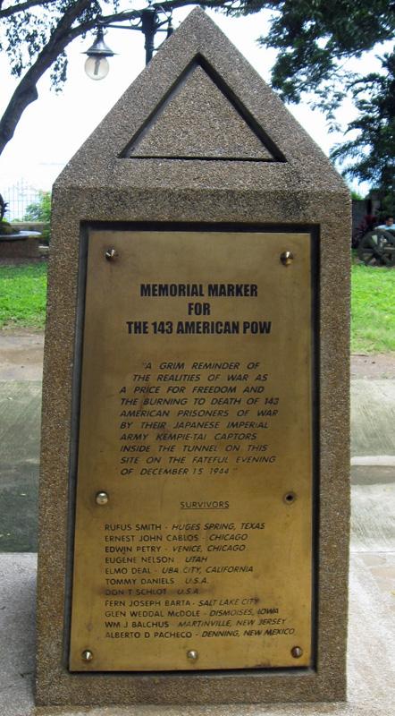 Survivors Memorial Plaza Cuartel, Palawan