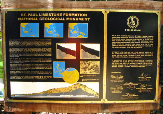 St. Paul Limestone National Geological Monument.