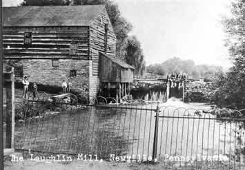 Laughlin Mill circa 1900