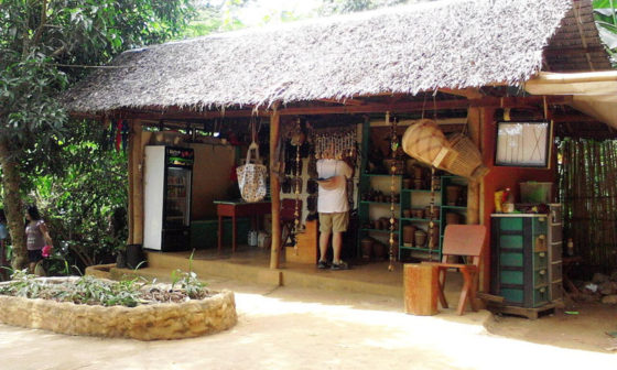 Sales area which supports the Palaw'an livelihood.
