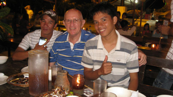 Alex, Ed and Rico's friend, Baywalk Puerta Princesa