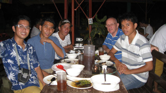 The Dinner Party Group Photo, Baywalk Puerta Princesa