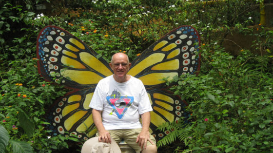 Ed the big butterfly
